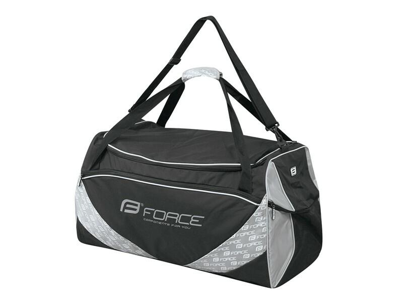 Force taška sportovní FORCE 80 l, černá