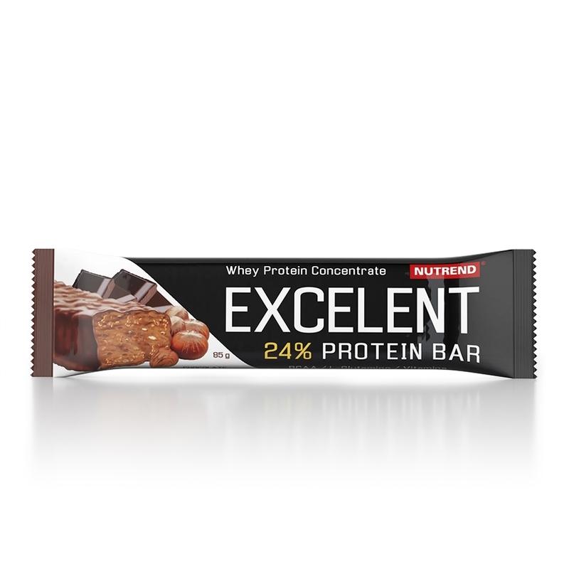 Nutrend tyčinka EXCELENT 40g čokoládová s oříšky