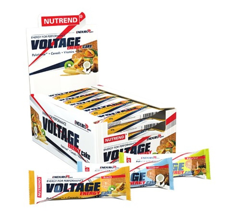 Nutrend tyčinka VOLTAGE ENERGY CAKE 65g