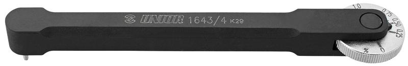 Unior měrka na řetěz PROFI s měřícím trnem