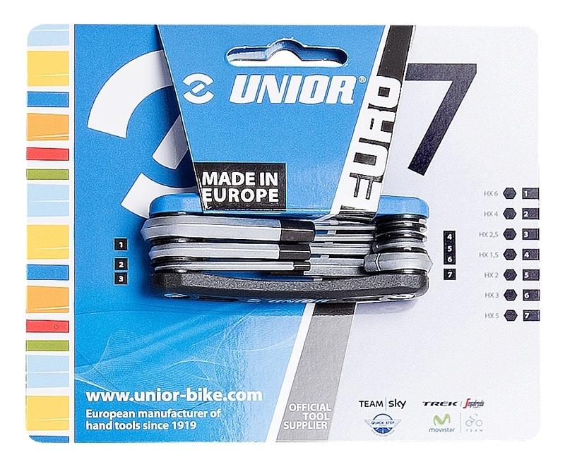 Unior nářadí multiklíč EURO7, 7 funkcí