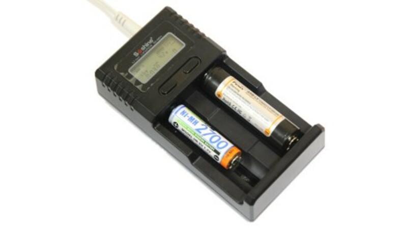 Bezvakolo Uni. nabíječka Soshine H2 s LCD (Li-Ion, NiMH, LiFePo4)