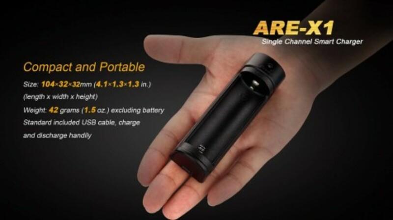 Fenix USB nabíječka Fenix ARE-X1 (Li-Ion)
