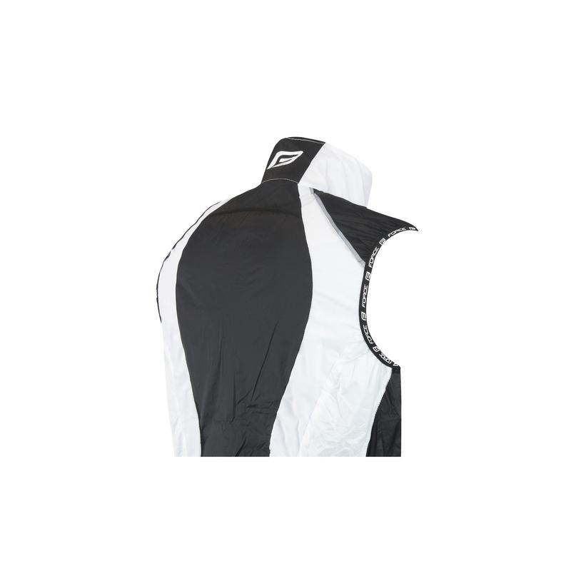 Force vesta V53 neprofuk, bílo-černá
