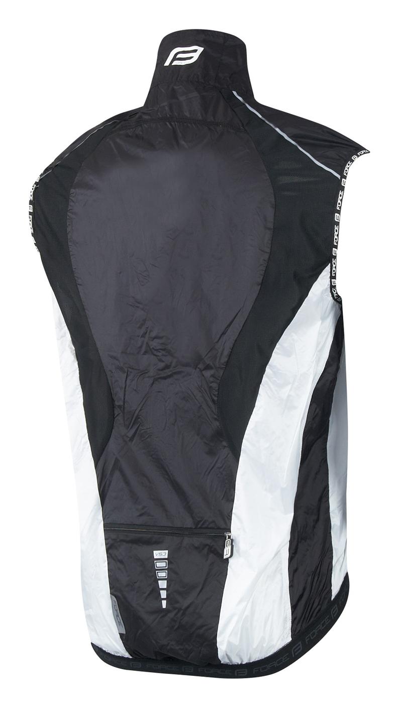 Force vesta V53 neprofuk, černo-bílá