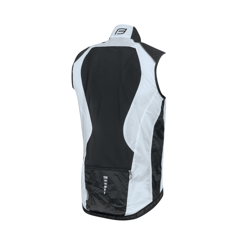 Force vesta V53 neprofuk širší-W, černo-bílá