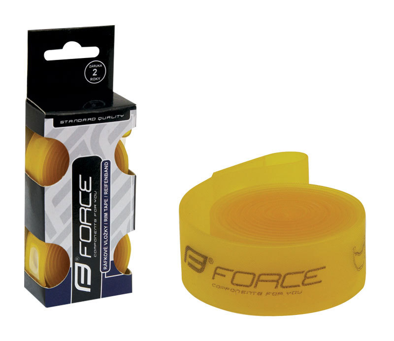 Force vložka ráf. FORCE 559x18 žlutá 2ks