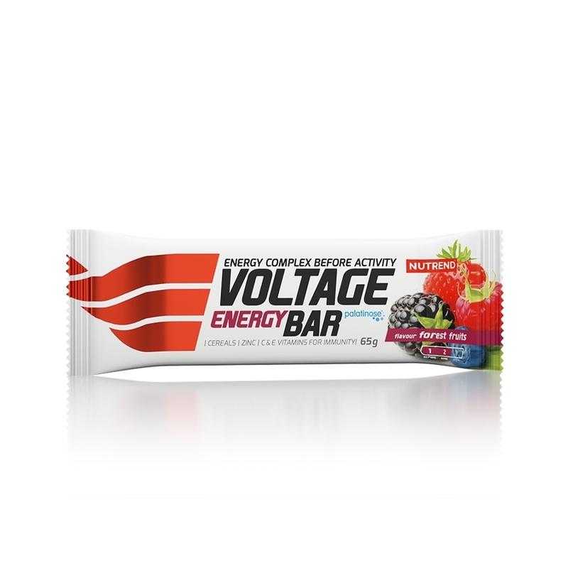 Nutrend tyčinka VOLTAGE ENERGY BAR