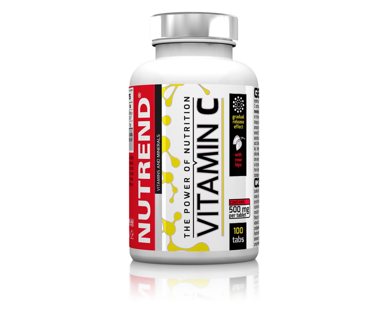 Nutrend VITAMÍN C se šípky 100 tablet