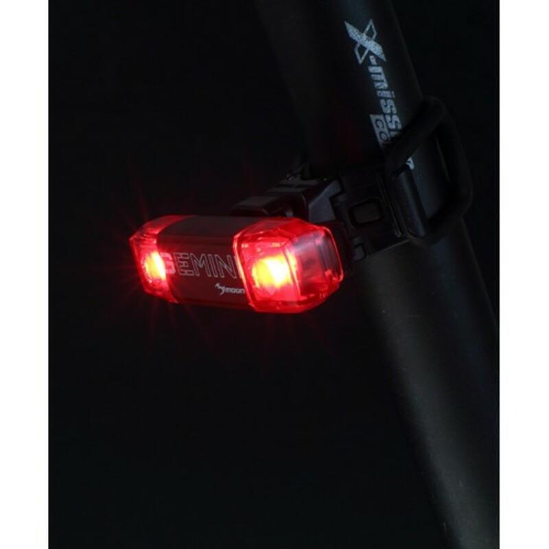 Moon Zadní světlo GEMINI USB
